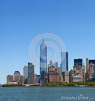 New York City, Manhattan buildings view