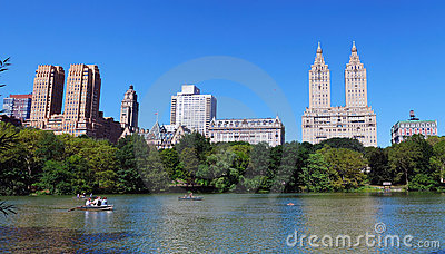 New York City Manhattan Central Park panorama