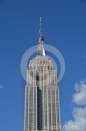 Free New York City Manhattan Midtown View With Empire State Building Stock Photo - 53511550