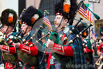 St. Patricks Day Parade NYC Editorial Photo