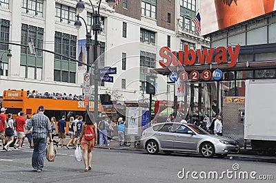 New York City Midtown Editorial Photo