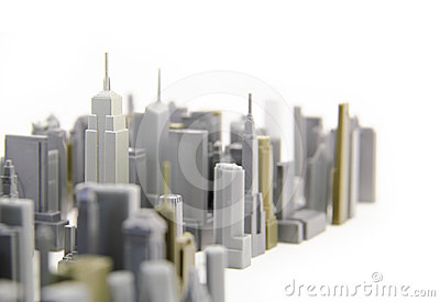 New York City Model Royalty Free Stock Photography - Image: 24614767