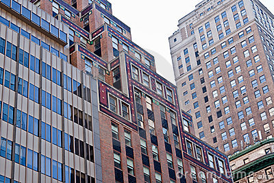 New York City Modern Buildings