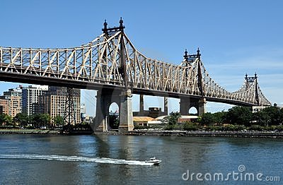 New York City: Queensboro Bridge Editorial Photo
