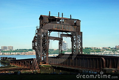 New York City: Railroad Pier Ruins