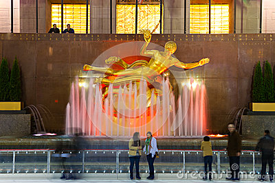 NEW YORK CITY - Rockefeller center Editorial Image