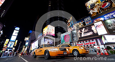 NEW YORK CITY - SEPT 18: Times Square Editorial Photography