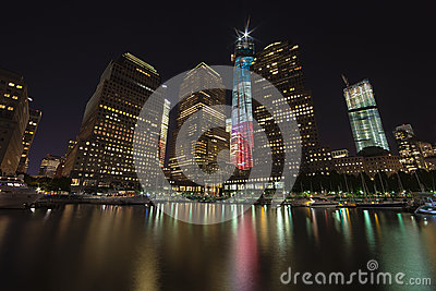 NEW YORK CITY - SEPTEMBER 17: World Trade Center Editorial Image