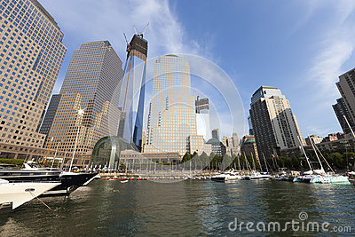NEW YORK CITY - SEPTEMBER 17: World Trade Center Editorial Stock Image