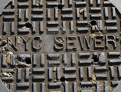 New York City Sewer Cover