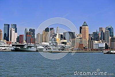 New york city sky-scrapper
