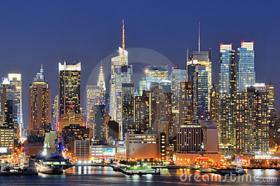 New York City Skyline Editorial Photography
