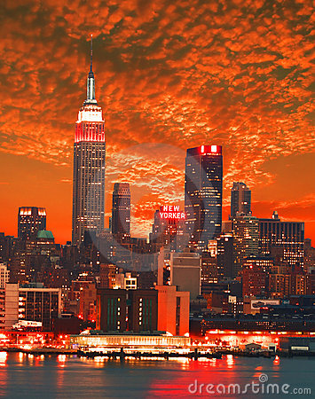Latest Picture Nature on New York City Skyline Stock Photos   Image  4715913
