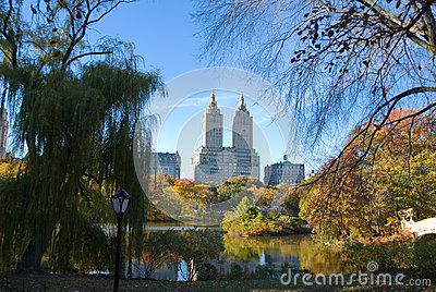 Central Park, New York City in Autumn