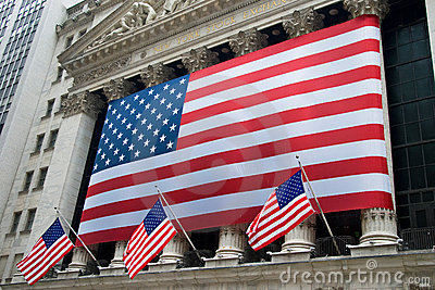 New York City Stock Exchange Editorial Photography
