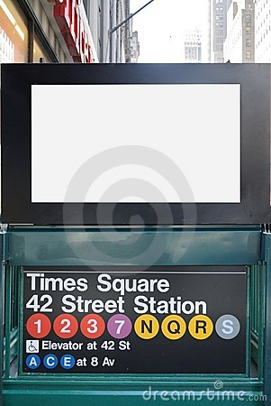 New York City Subway Billboard