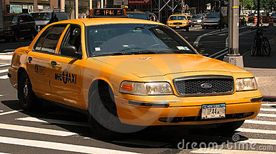 New York City taxi Editorial Image
