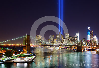 New York City Tribute in Light