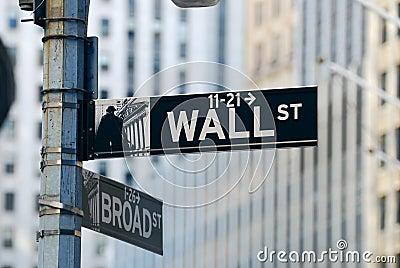New York City Wall Street Editorial Photo