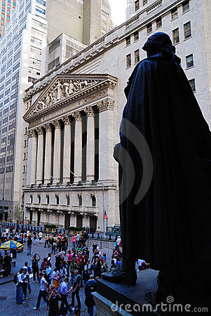 New York City Wall Street Editorial Photography