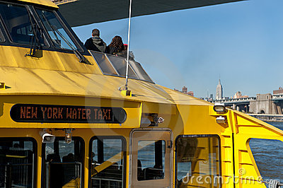 New York City Water Taxi Stock Photo - Image: 22015680