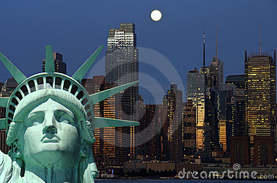 New york cityscape, tourism concept photograph