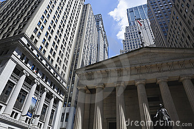 New york: federal hall national memorial Editorial Photo