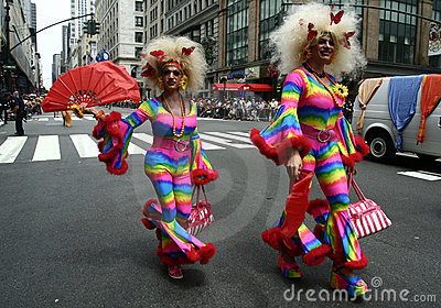 New York Gay Pride Parade4 Editorial Photography