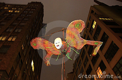 New York Halloween Parade Editorial Image