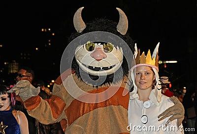 New York Halloween Parade Editorial Stock Image