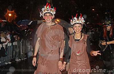 New York Halloween Parade Editorial Stock Image