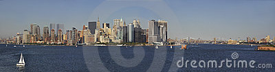 New York Harbor Panorama