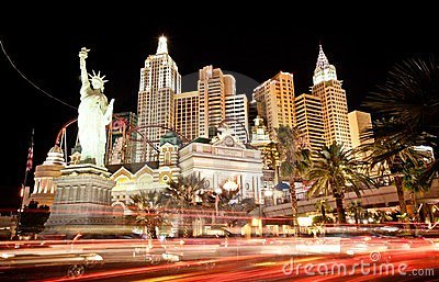 New York hotel-casino in Las Vegas Editorial Stock Image