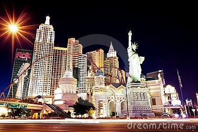 New York hotel-casino in Las Vegas Editorial Stock Image