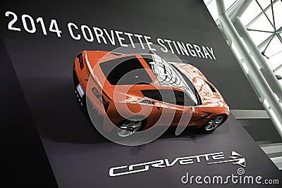 Corvette Stingray showcased at the New York Auto Show