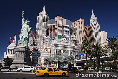 New York in Las Vegas Editorial Stock Photo