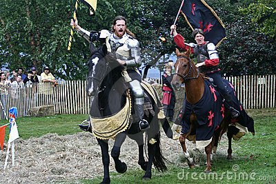 New York Medieval Festival Editorial Photo