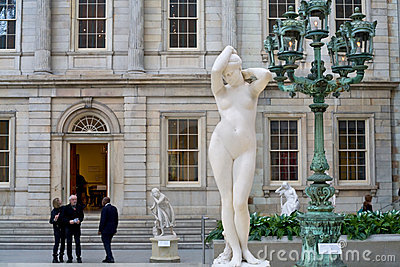 New York Metropolitan Museum Editorial Stock Image