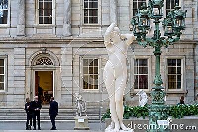 New York Metropolitan Museum Editorial Stock Image