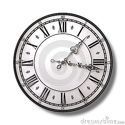 New York Minute Clock Hands