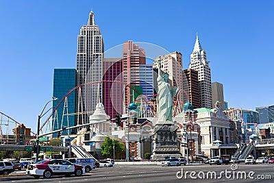 New York-New York casino Editorial Photo