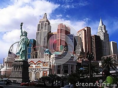 New York New York hotel Editorial Image