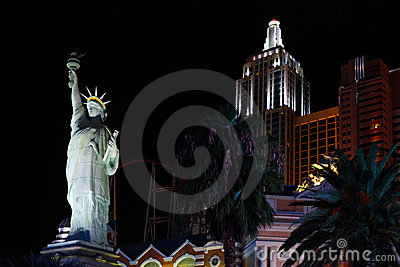 New York-New York hotel casino Editorial Stock Photo