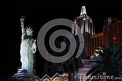 New York-New York hotel casino Editorial Stock Photo