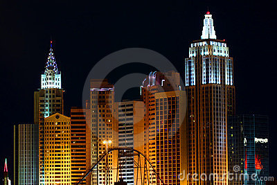 New York New York Hotel Casino Editorial Photo