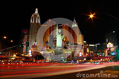 New York New York Hotel Casino Editorial Stock Photo