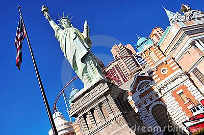 New York-New York Hotel & Casino in Las Vegas Editorial Photography