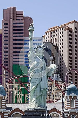 New York New York Hotel & Casino in Las Vegas Editorial Photo
