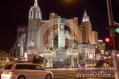 New York-New York Hotel in Las Vegas Editorial Stock Image