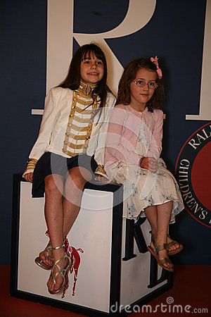 Free NEW YORK, NY - MAY 19: A Kid Guest Before Runway At The Ralph Lauren Fall 14 Children S Fashion Show Stock Photos - 40844173
